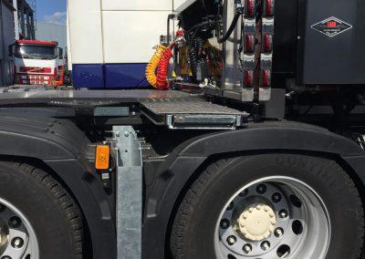 Diverse kisten en bakken tbv van nieuwe trucks Pultrum (4)